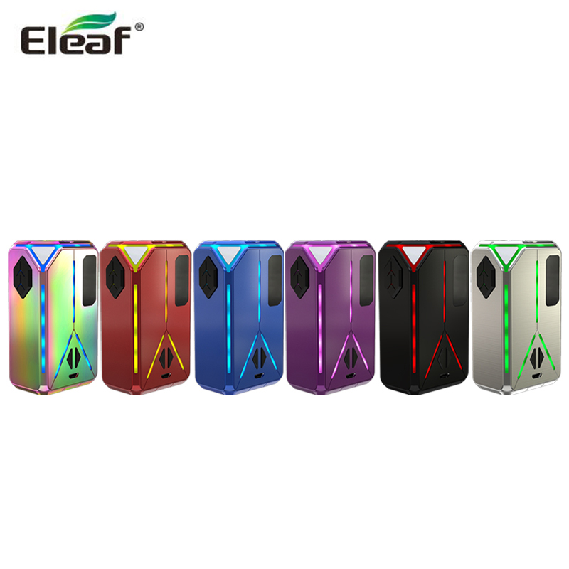 Original Eleaf Lexicon MOD 235W Box MOD Electronic Cigarette Vape Support ELLO Duro Tank E-Cigarettes MOD original eleaf lexicon tc box mod 235w output preheat function w sparkling light effect for ello duro tank e cigarette vape mod