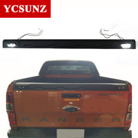 Tail Gate Truck Trim For Ford Ranger 2017 Accessories Tailgate Truck Sill Cover For Ford Ranger