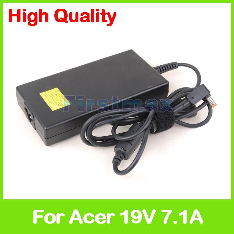 Slim 135W 19V 7.1A AC adapter PA-1131-05 PA-1131-08 laptop charger for Acer Aspire V17 Nitro VN7-791 VN7-791G kingsener new ac14a8l laptop battery for acer aspire vn7 571 vn7 571g vn7 591 vn7 591g vn7 791g kt 0030g 001 11 4v 4605mah