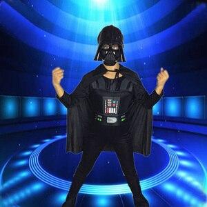 Image 2 - Darth Vader(Anakin Skywalker) Darth Vader Costume Suit Kids Movie Costume For Halloween Party Cosplay Costume Adult Children