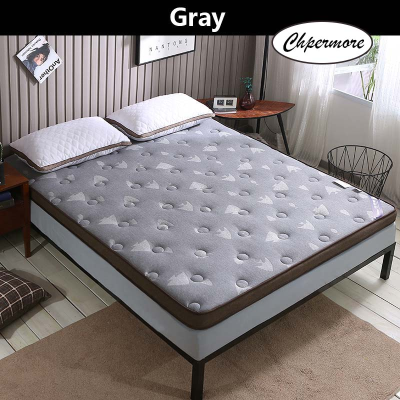 Chpermore Knitting cloth quilting Memory Foam Mattress Foldable Slow rebound Mattresses Thicken Tatami King Queen Size