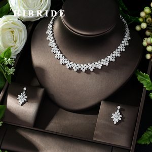 Image 1 - HIBRIDE Hot Selling Elegant Noble Clear Bright CZ Leaf Pendant White Color Charm Choker Necklace for Bridal Wedding N 1008