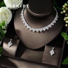 Женское Ожерелье чокер HIBRIDE, белое ожерелье с подвеской в виде яркого чаника, для свадьбы, N 1008