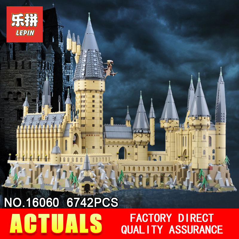 Lepin 16060 Hogwarts Castle Magic School Compatible With The 71043 Educational Toys Assembled Birthday Building Blocks