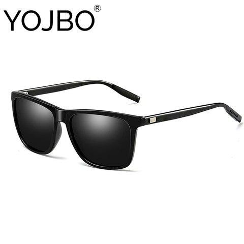 YOJBO Unisex Retro Sunglasses Men Polarized 2019 Fashion Women Vintage Brand Designer Square Sun Glasses Gafas De Sol Hombre Pakistan