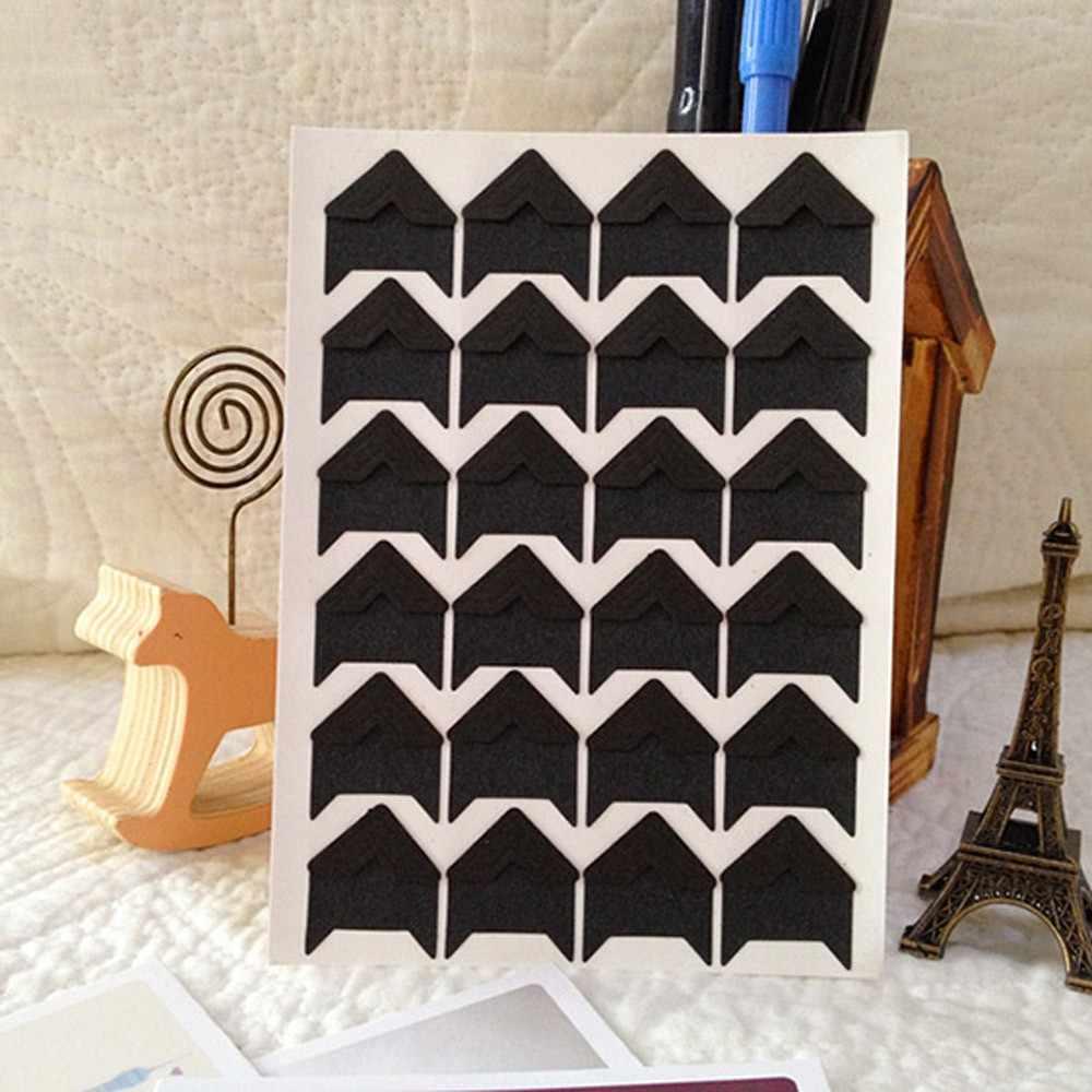 באיכות גבוהה DIY בציר פינת קראפט נייר מדבקות לאלבומי תמונות מסגרת קישוט 12.5 cm * 9 cm