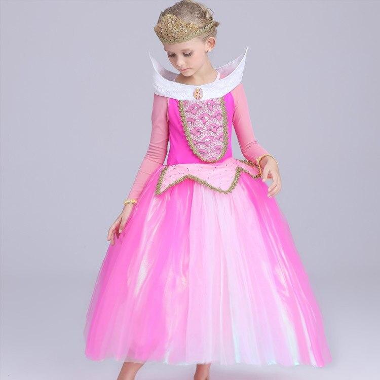 vestido infant Princess Girls Sleeping Beauty Dress Princess Aurora ...
