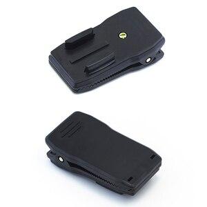 Image 3 - Quick CLIPกระเป๋าเป้สะพายหลังRucksackหมวกCLAMP Mount AdapterสำหรับGoPro HERO 6 5 4 3 + 2/สำหรับXiaomi/foryi 4K/กล้องกีฬา