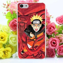 Naruto Hard Transaprent Case Cover for iPhone