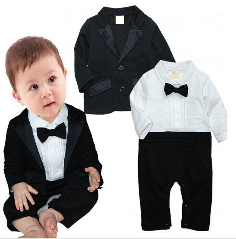 winter cotton long sleeve rompers+coat suit toddler boys Birthday party wedding clothing newborn Infant baby boy clothes DY088B  baby boys suits clothes gentleman suit toddler boys clothing infant clothing wedding birthday cotton summer children s suits