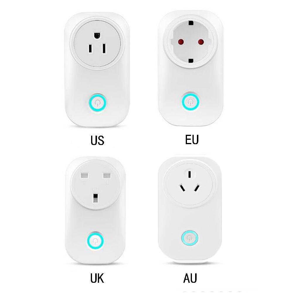 HTB1LsuBaOfrK1RjSspbq6A4pFXaW - US UK EU AU Plug WIFI Remote Control Socket Voice Control Timing Socket Smart Home Power Socket Alexa Google Assistant IFTTT