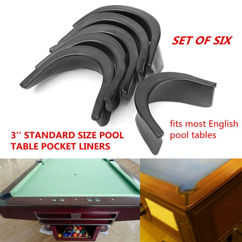 Fits 5 inch Diameter Opening Prettyia Pool Table Pocket Replacement