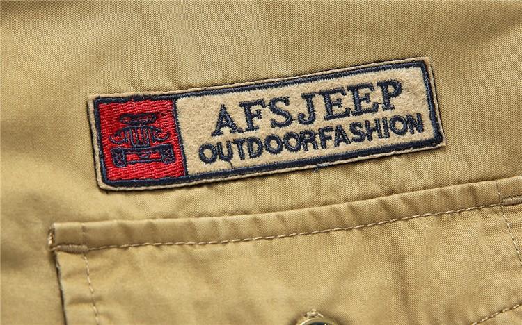 AFS JEEP 2015 Spring Autumn Fashion Men\'s Cotton Dress Plus Size Shirts Camisa Hombre Blouse Vestido Men Clothes Casual 2XL 3XL (7)