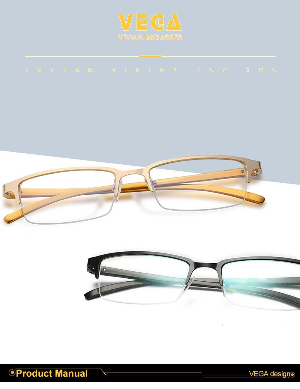 Eyewear Square Gaming Computer Glasses Women Men Blue Semi-rimless Light Glasses Comfortable Blue Glasse (2)