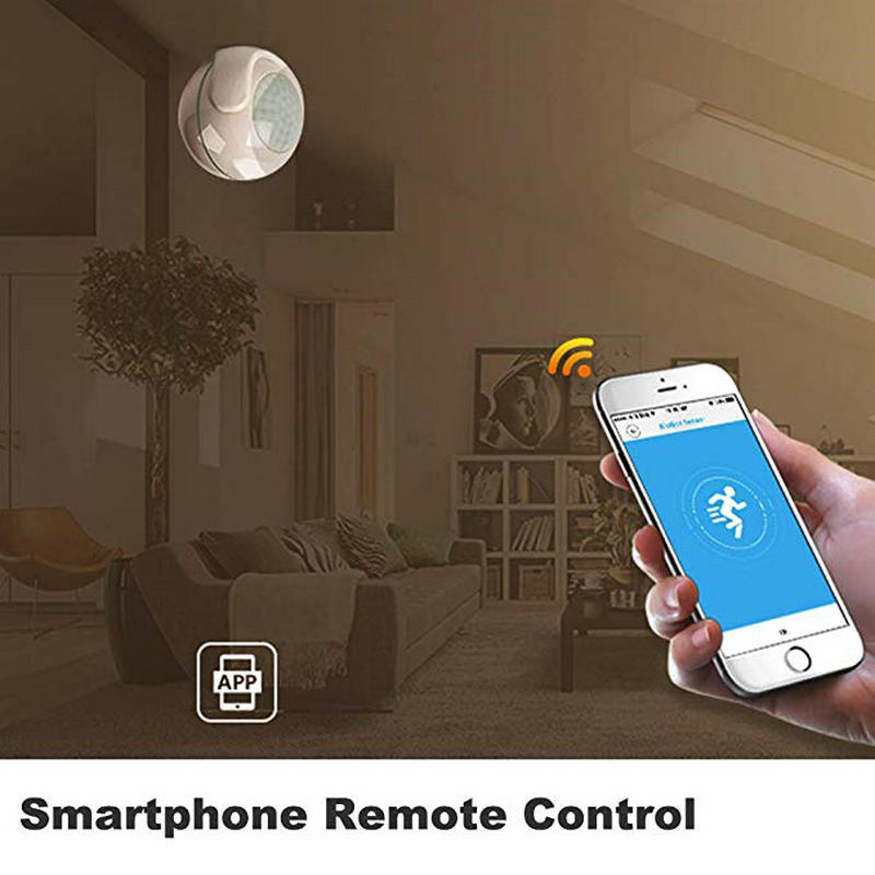 WIFI PIR Motion Sensor for TUYA Smart Home Video Alarm Kit Support Wifi  with Free SmartLife TUYA Smart APP For Free Shipping