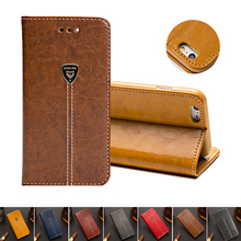 Luxury Leather Phone Flip Case For Samsung