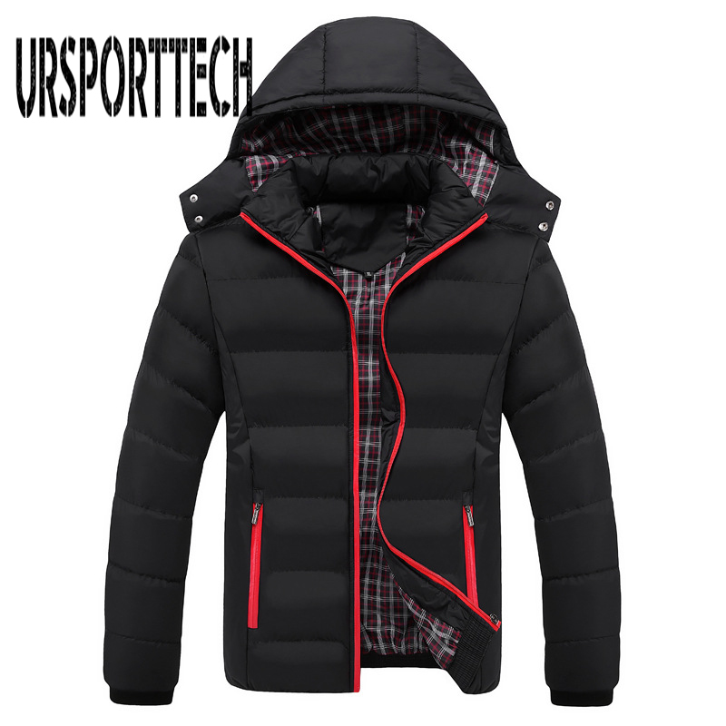 New Winter Jacket Men Fashion Thermal Hooded Down Parkas Male Casual Down Jacket Men Winter Warm Coat Plus Size M-5xl