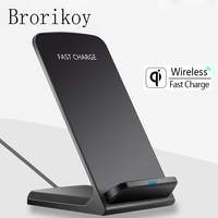 Wireless Charger For Samsung S6 S7 Edge S8 S9 Plus Note 5 8 Fast Charging Dock