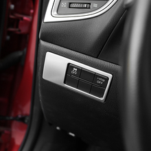 ФОТО for mazda 2 demio dl sedan dj hatchback lhd 2015 2016 2017 abs interior headlight light adjustment button cover trim