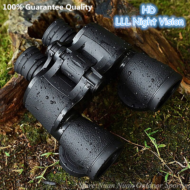 Baigish 20X50 Big Eyepiece Wide Angle Zoom Lll Night Vision Binoculars Outdoor Professional Military Travel Binocular