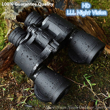 Baigish 20X50 duży okular szerokokątny Zoom Lll lornetki noktowizyjne na świeżym powietrzu profesjonalne wojskowy podróży lornetki