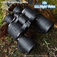 Baigish prismáticos de visión nocturna para exteriores, binoculares de viaje militares profesionales, Zoom gran angular, 20X50