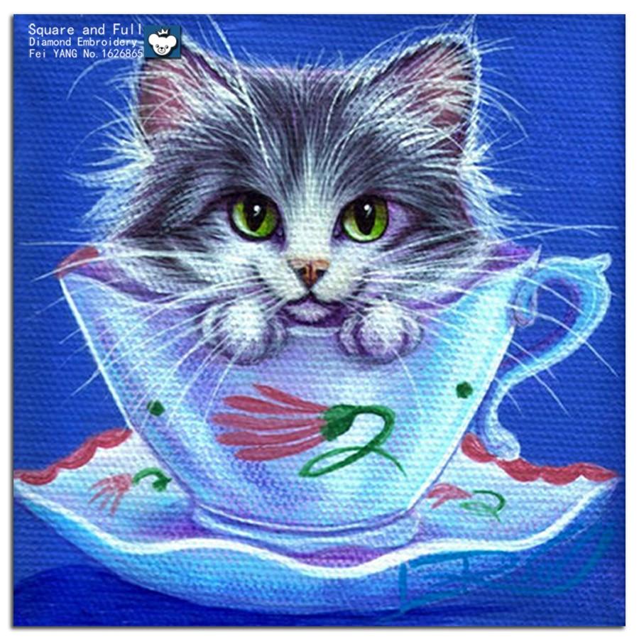 88 Gambar Mosaik Hewan Kucing HD Terbaik