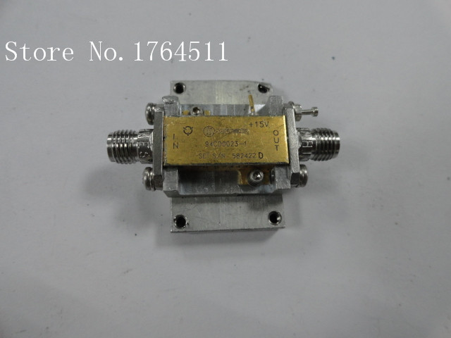 [BELLA] The Supply Of MITEQ 94CD0023-1 RF Low Noise Amplifier 15V SMA