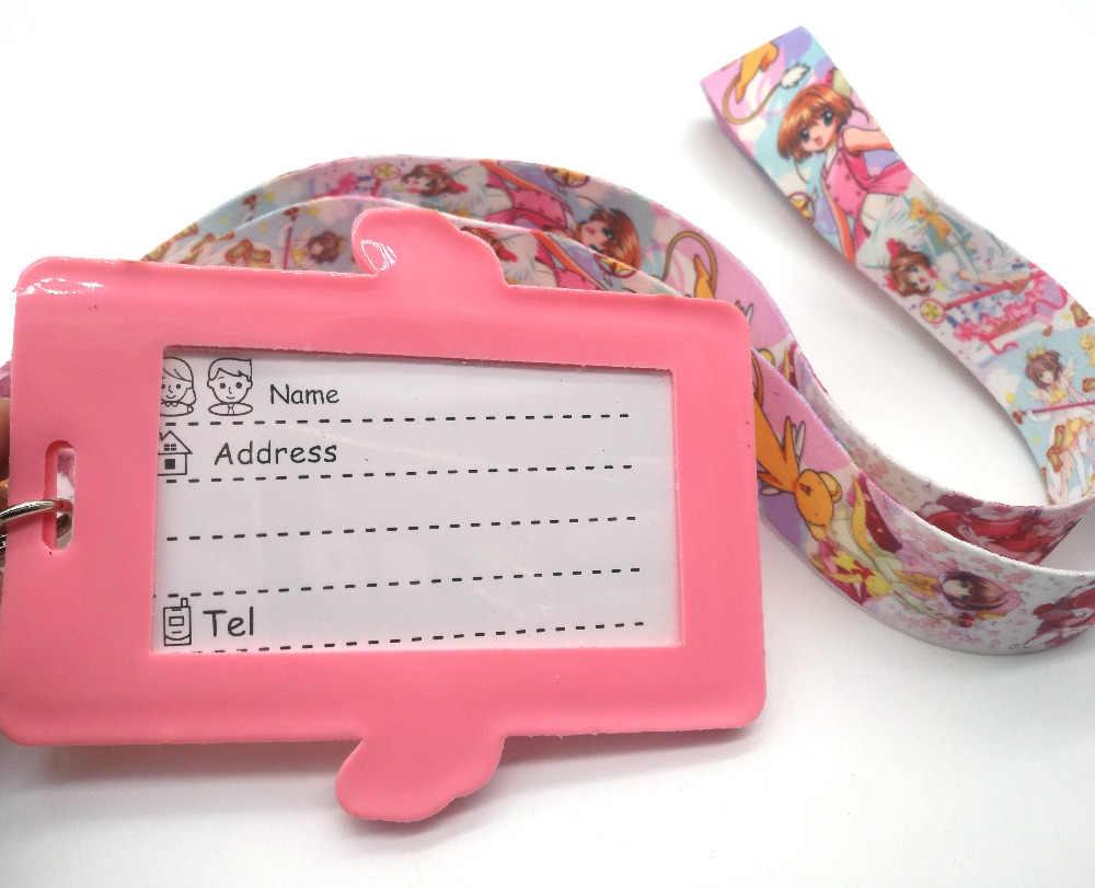 Лидер продаж! 1 шт японского аниме Cardcaptor Сакура ремешок для ключей карты Держатели банковских карт шейный ремень карты идентификатор автомобиля держатели P03