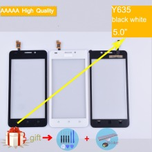 For Huawei Ascend Y635 Touch Screen Touch Panel Sensor Digitizer Front Outer Glass Lens Touchscreen No LCD black white блесна вертикальная зимняя lucky john s 5 17 0 гр g