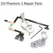 Repair Parts for DJI Phantom 3 Adv Pro 4K Camera Drone Gimbal Camera Yaw Arm Roll Bracket Flat Ribbon Cable Flex Gimbal Mount цена