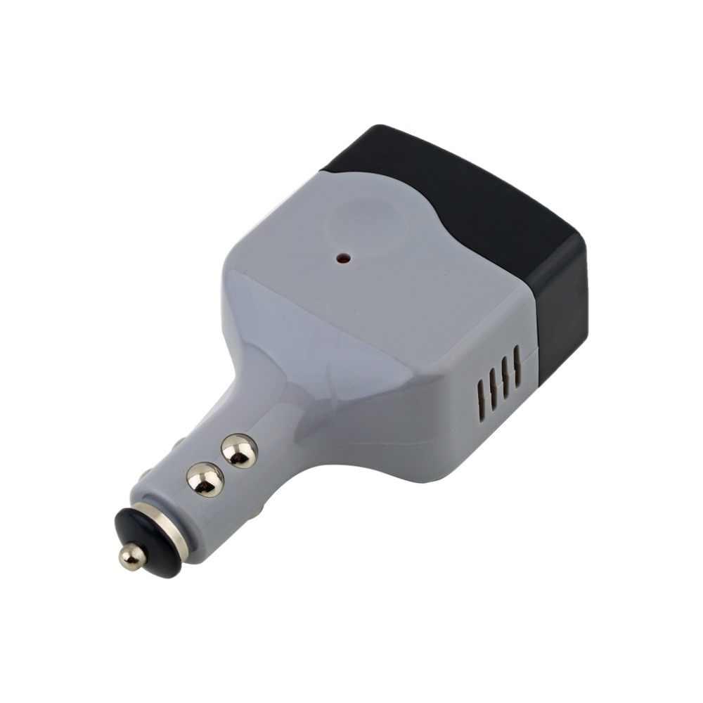 Caliente DC 12/24 V a CA 220 V USB 6 V coche móvil inversor adaptador Auto coche cargador convertidor de energía utilizado para todos los teléfonos móviles