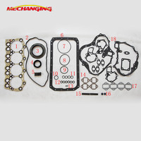 4D32 for MITSUBISHI ROSA CANTER FE325 3.7 Engine Parts Engine Rebuilding Kits Full Set Engine Gasket engine seal gasket ME997273