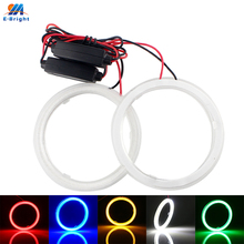 60-110 mm 12V 24V Car LED COB Angel Eyes Halo Ring Headlight e39 e46 e36 e90 With PLampshade & Constant Current Driver LED Light