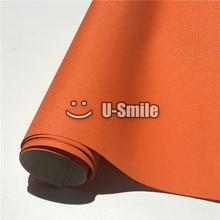 High Quality Orange Diamond Sandy Glitter Vinyl Film Wrap Roll Bubble Free For Phone Laptop Ipad Cover Size:1.52*30M