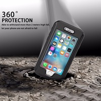 AD Button Series Advanced Version Outdoor Phone Case For Iphone 6 6S Plus IP68 Waterproof Super