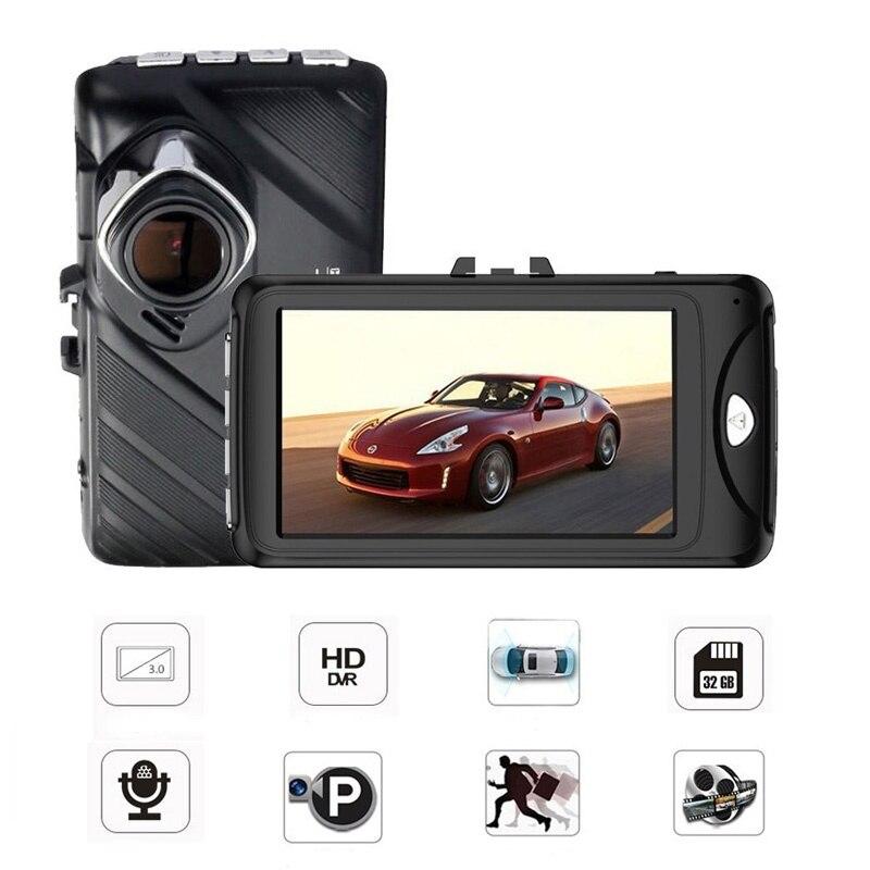 Dash Camera 3 Inch Dashcam 96658 Video Recorder HDR G-sensor Night Vision Registrator Car DVRs Dual Lens Dash Cam 5