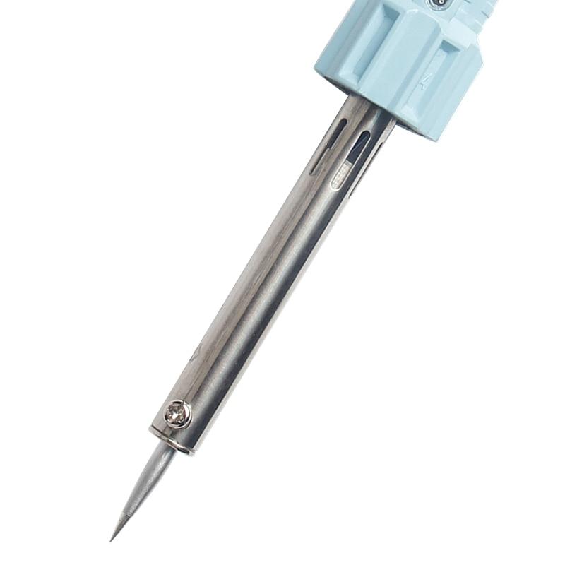 60W Electric Soldering Iron Outside Heat Lead-free Solder Iron Head Electric Temperature Gun Soldering Welding Equipment Tools