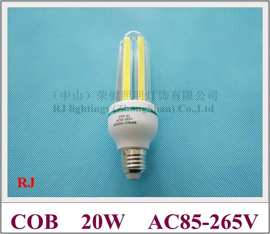 Rongjian (rj) 20 Вт E27 удара светодиодная лампочка 20 Вт Светодиодная лампа вел 3u AC85V-265V вход для нас и азиатских стран