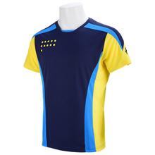 Xiom tenis stołowy Odzież męska Odzież T-SHIRT Koszulka z krótkim rękawem ping pong Jersey Sport koszulki ma długi styl tanie tanio TIBHAR Mężczyzn Pasuje do rozmiaru Weź swój normalny rozmiar