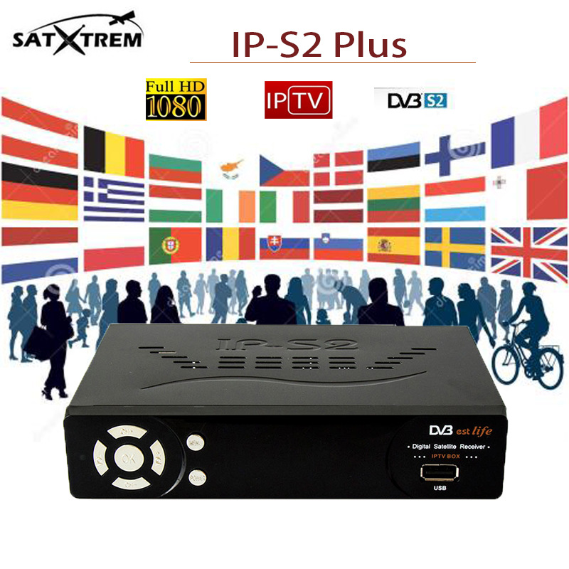 цена на IPS2 Plus Best HD IPTV Box Full HD 1080P DVB-S2 Digital Satellite Receiver Dual core CPU support IPTV server USB Android TV box
