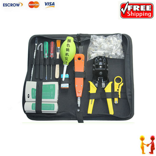 ФОТО Freeshipping. Network Tools Gerny Wire Cable plier, with screwdriver, Link Tester etc..