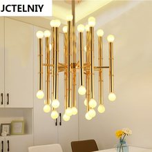 Bamboo droplight Jonathan Adler Meurice pendant lamp contemporary contracted, wrought iron Chandeliers(China)