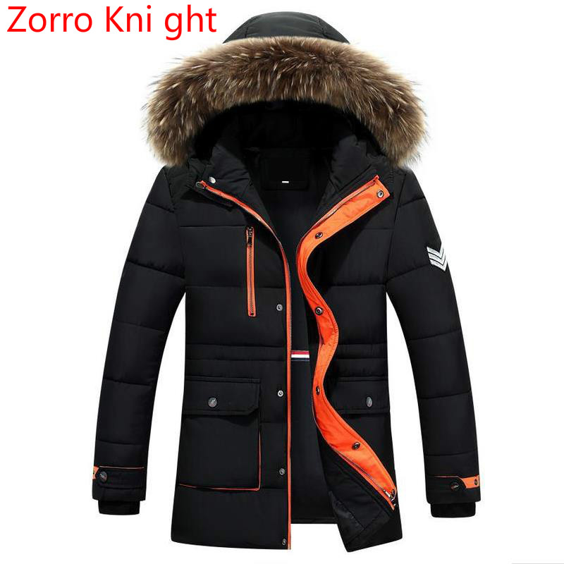 2018 New Brand Winter Men Thick Camouflage Down Jacket Men's   Parka   Coat Male Hooded   Parkas   Jacket Men Military Down Overcoat