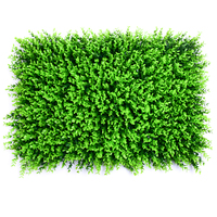 Aqumotic Lawn Wall Sticker Simulated Plant Decoration Green Planting Sign Hanging Plastic Indoor Background Art And Decor Tool