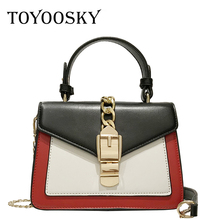 TOYOOSKY New Arrival Fashion Luxury Women Handbag PU Leather Shoulder Bags Lady Large Capacity Crossbody Hand Bag Sac A Main