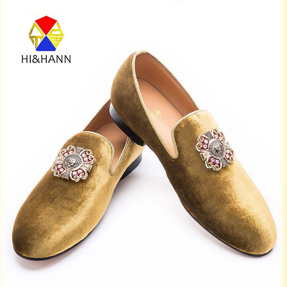 luxurious Handmade men party loafers with delicated rhinestones Charm USA brand prom and banquet men dress shoes male's flats piergitar 2016 new india handmade luxurious embroidery men velvet shoes men dress shoes banquet and prom male plus size loafers