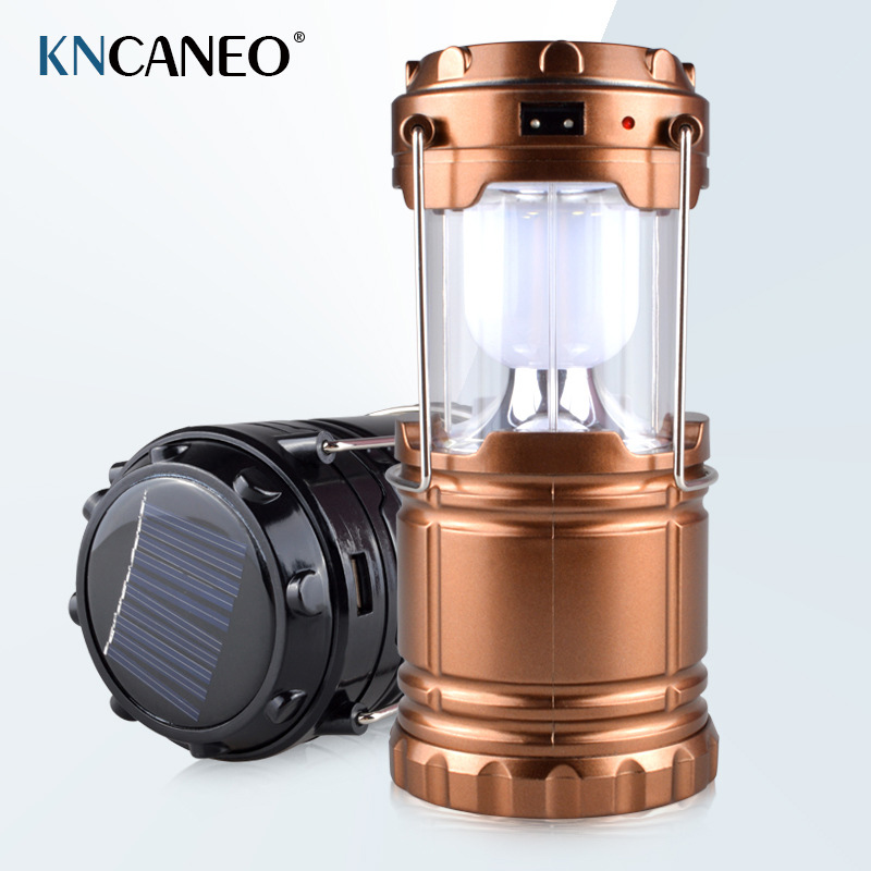 Outdoor camping tent portable lights emergency lighting lamp portable solar charging lantern LED camping lamp outdoor camping light camping lamp night market stall tent lamp home emergency lamp charging led lamp mobile power function