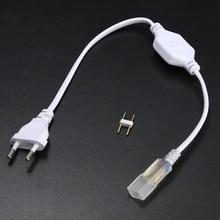 2pin 6mm Cable LED Strip Light 5050 2835 3014 5630 SMD Light Bar Plug