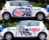 DIY Custom Car Cartoon Stickers Hatsune Miku Vinyl Sticker Printing Carving Protection Film Car Funny Graffiti